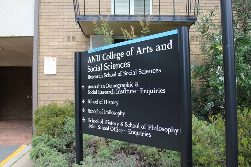 hc-coombs-anu-college-of-arts-and-social-sciences-sign-24493